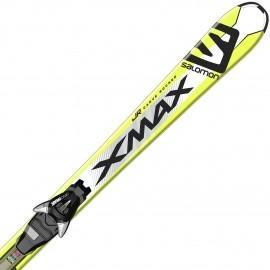 Salomon E X-MAX JR M + E EZY7 B80 - Junioren Ski