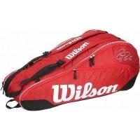 Wilson FEDERER TEAM 6PK BAG FEDERER TEAM 6PK BAG - Tennistasche